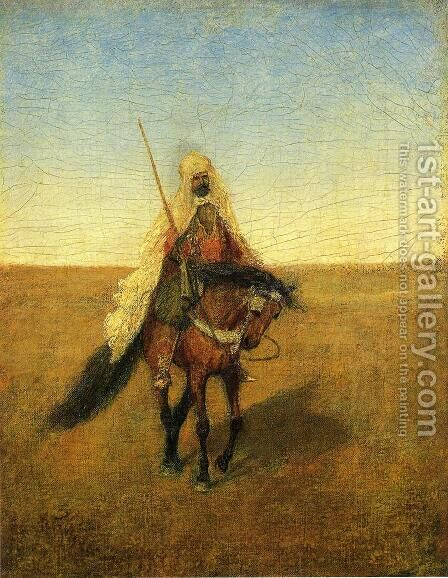 The Lone Scout by Albert Pinkham Ryder - Reproduction Oil Painting