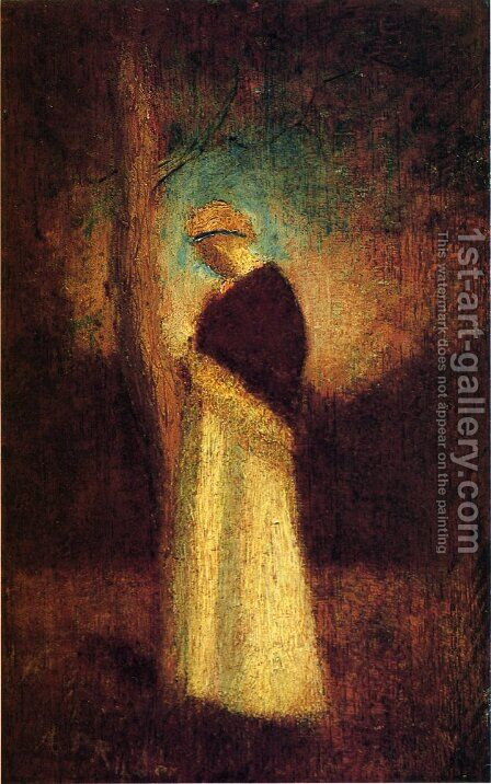 Spirit of Autumn by Albert Pinkham Ryder - Reproduction Oil Painting