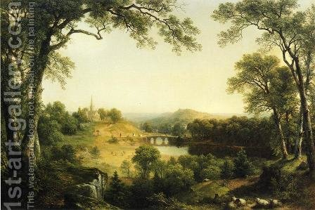 Sunday Morning by Asher Brown Durand - Reproduction Oil Painting
