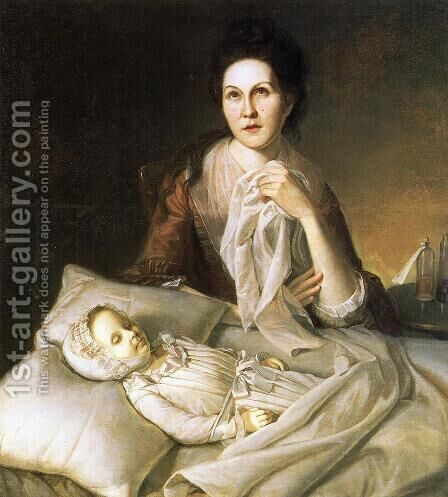 Rachel Weeping by Charles Willson Peale - Reproduction Oil Painting