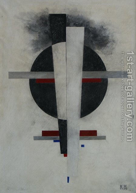 Suprematic by Kazimir Severinovich Malevich - Reproduction Oil Painting