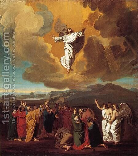 The Ascension by John Singleton Copley - Reproduction Oil Painting