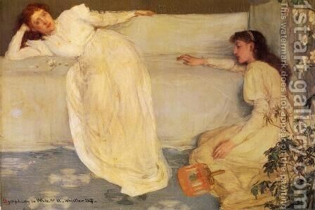 Symphony in White, No. 3 by James Abbott McNeill Whistler - Reproduction Oil Painting