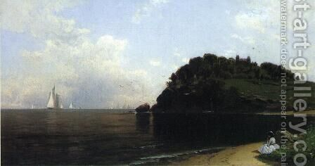 On Long Island Sound by Alfred Thompson Bricher - Reproduction Oil Painting