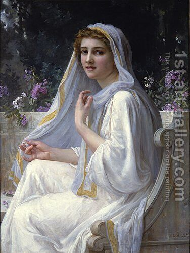 Reflections I by Guillaume Seignac - Reproduction Oil Painting