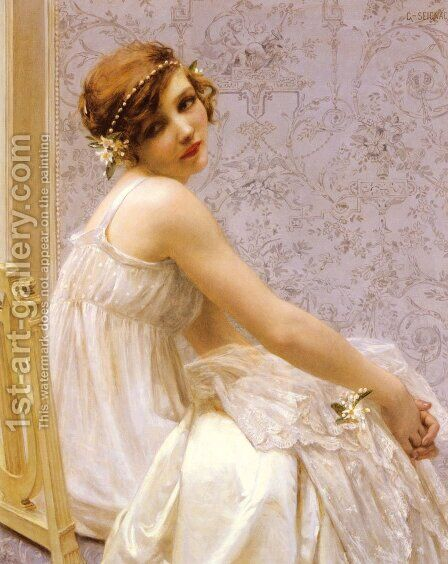 Virginite by Guillaume Seignac - Reproduction Oil Painting