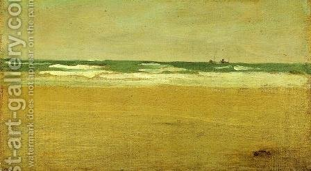 The Angry Sea by James Abbott McNeill Whistler - Reproduction Oil Painting