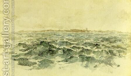 Off the Dutch Coast by James Abbott McNeill Whistler - Reproduction Oil Painting