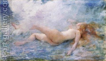 Tossed by a Wave by Henri Gervex - Reproduction Oil Painting