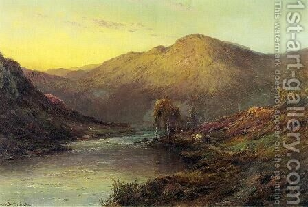 Near Dunkeld 2 by Alfred de Breanski - Reproduction Oil Painting
