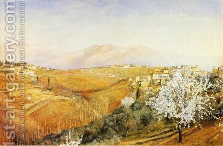 Tuscany by Henry Roderick Newman - Reproduction Oil Painting