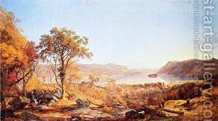 Indian Summer by Jasper Francis Cropsey - Reproduction Oil Painting