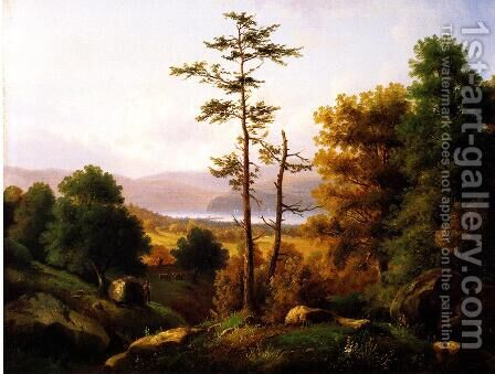 On the Hudson by Henry Ary - Reproduction Oil Painting