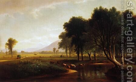Artist Brook, North Conway, New Hampshire by Benjamin Champney - Reproduction Oil Painting