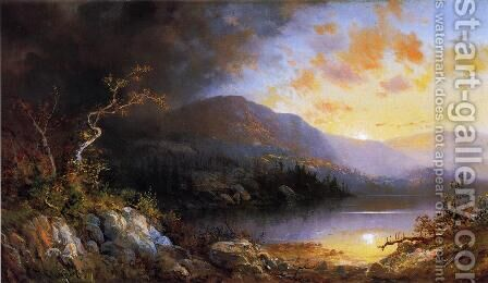 Storm in the Adirondacks by Charles H. Chapin - Reproduction Oil Painting