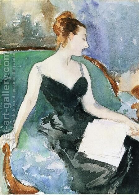 Madame Gautreau by Sargent - Reproduction Oil Painting