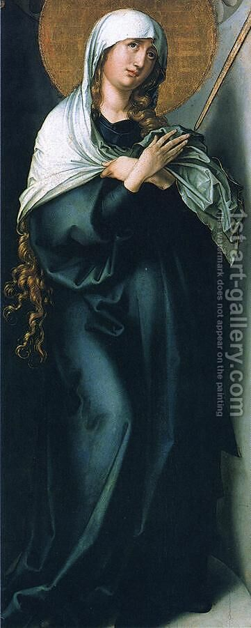 The Seven Sorrows of the Virgin: Mother of Sorrows I by Albrecht Durer - Reproduction Oil Painting