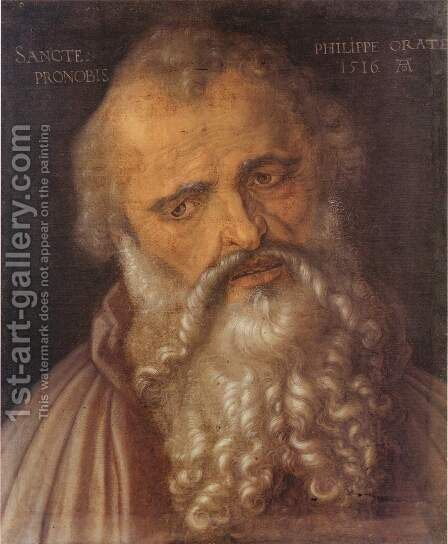 Apostle Philip by Albrecht Durer - Reproduction Oil Painting