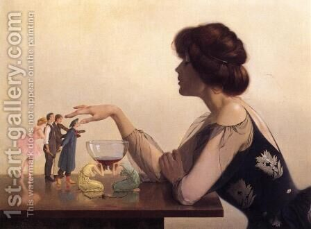 The Dregs by Harry Willson Watrous - Reproduction Oil Painting