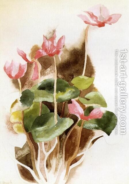 Cyclamen by Charles Demuth - Reproduction Oil Painting