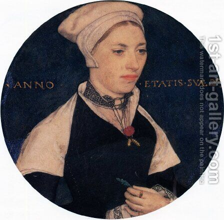 Mrs. Pemberton by Hans, the Younger Holbein - Reproduction Oil Painting