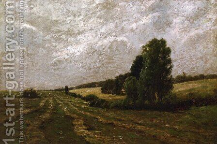 The Meadow, Sweet with Hay, Long Island, New York by Edward B. Gay - Reproduction Oil Painting