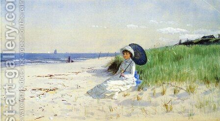 Summer Reverie by Alfred Thompson Bricher - Reproduction Oil Painting