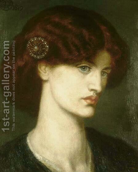 Beatrice by Dante Gabriel Rossetti - Reproduction Oil Painting