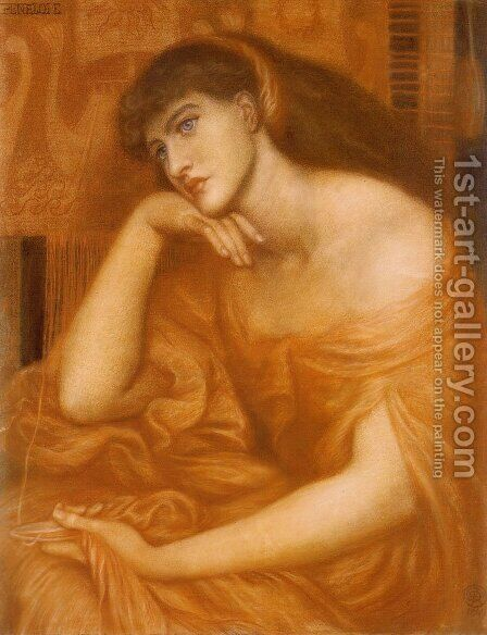 Penelope by Dante Gabriel Rossetti - Reproduction Oil Painting