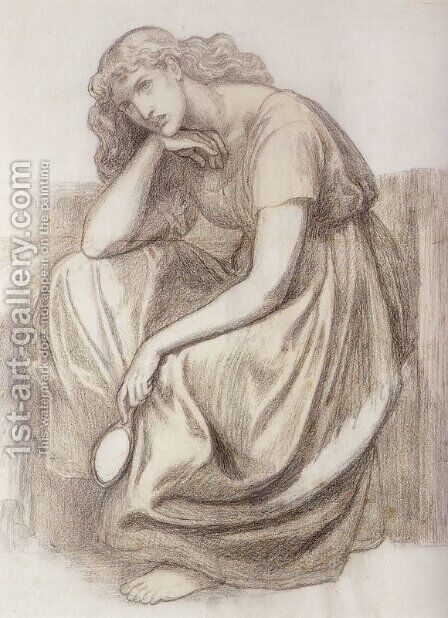 Desdemona by Dante Gabriel Rossetti - Reproduction Oil Painting