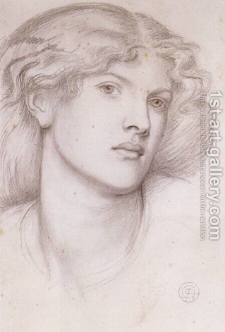 Fanny Cornforth I by Dante Gabriel Rossetti - Reproduction Oil Painting