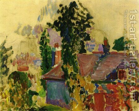 Landscape by Henri Matisse - Reproduction Oil Painting