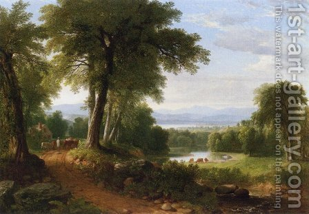 After a Summer Shower by Asher Brown Durand - Reproduction Oil Painting