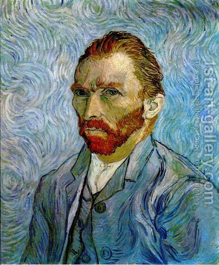 Self Portrait III 2 by Vincent Van Gogh - Reproduction Oil Painting
