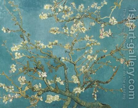 Branches with Almond Blossom by Vincent Van Gogh - Reproduction Oil Painting