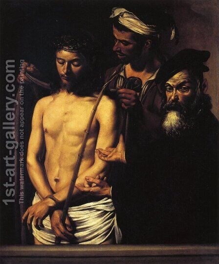 Ecce Homo by Caravaggio - Reproduction Oil Painting