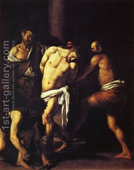 The Flagellation of Christ by Caravaggio - Reproduction Oil Painting