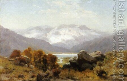 Twin Lakes, Colorado by Hamilton Hamilton - Reproduction Oil Painting