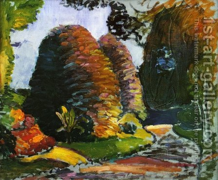 Luxembourg Gardens by Henri Matisse - Reproduction Oil Painting