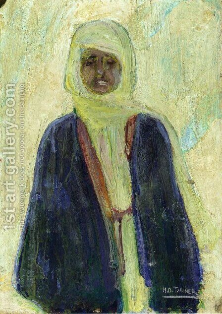 Moroccan Man by Henry Ossawa Tanner - Reproduction Oil Painting