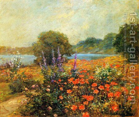 Poppies by Abbott Fuller Graves - Reproduction Oil Painting