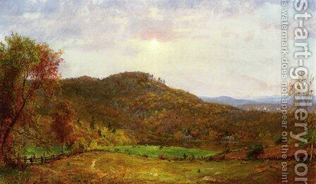 Autumn Landscape II by Jasper Francis Cropsey - Reproduction Oil Painting