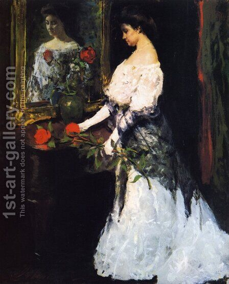 Before the Ball by Charles Hawthorne - Reproduction Oil Painting