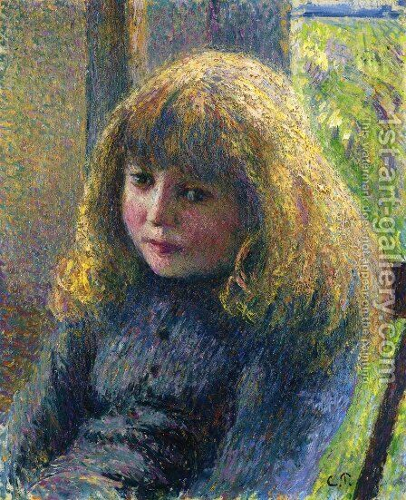 Paul-Emile Pissarro by Camille Pissarro - Reproduction Oil Painting