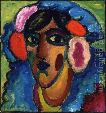 Infantin by Alexei Jawlensky - Reproduction Oil Painting