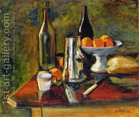 Still Life with Oranges by Henri Matisse - Reproduction Oil Painting