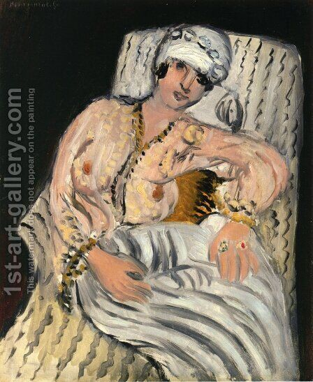 Odalisque by Henri Matisse - Reproduction Oil Painting