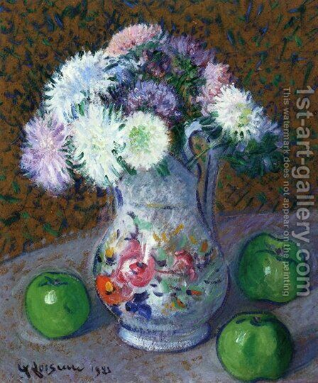 Vase of Flowers by Gustave Loiseau - Reproduction Oil Painting