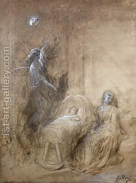 Queen Mab by Gustave Dore - Reproduction Oil Painting