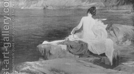 Calypso's Isle by Herbert James Draper - Reproduction Oil Painting